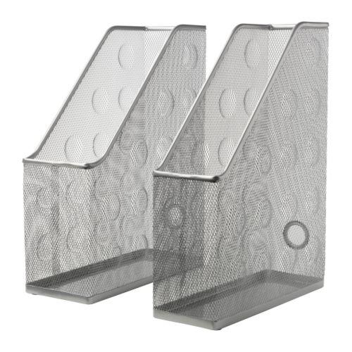 DOKUMENT Range-revues, 2 pièces, gris argent gris argent -