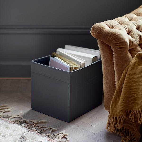 """DRÖNA Boîte-tiroir, noir, 13x15x13 """""""