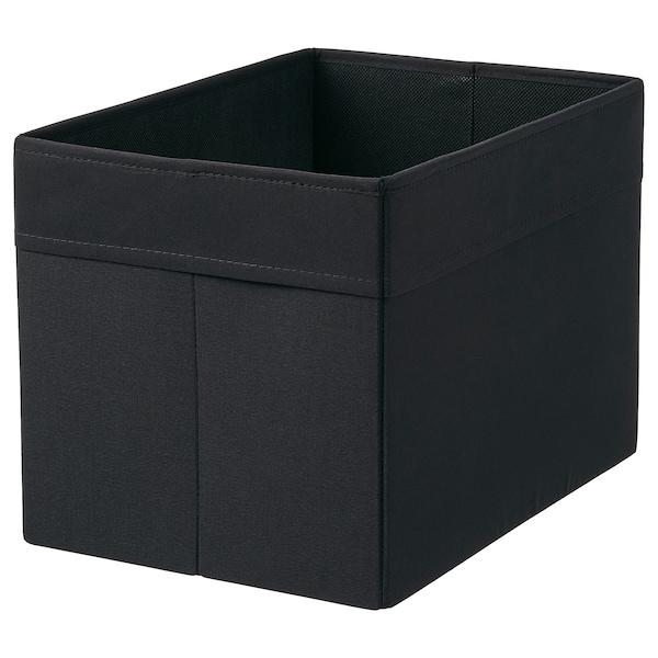 """DRÖNA Boîte-tiroir, noir, 9 ¾x13 ¾x9 ¾ """""""