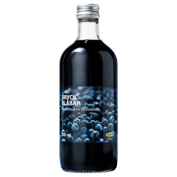 DRYCK BLÅBÄR Sirop de bleuets, 16.9 oz