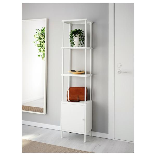 DYNAN Étagère et rangement 1 porte - blanc - IKEA