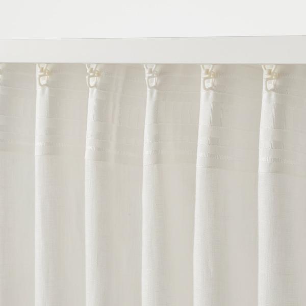 """DYTÅG Rideaux, 2 panneaux, blanc, 57x98 """""""