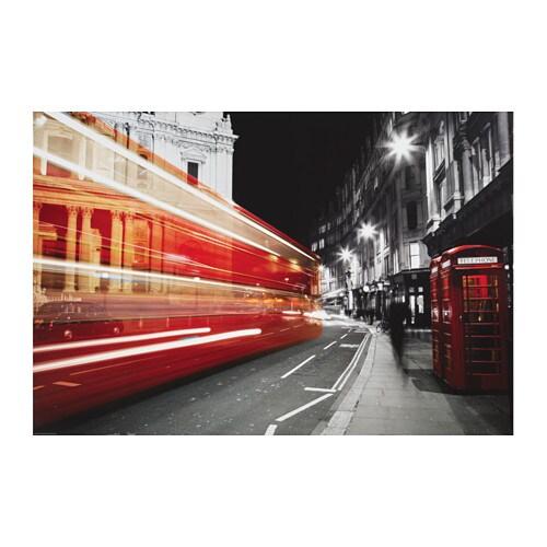 EDELVIK Affiche, cabine téléphonique, Royaume-Uni