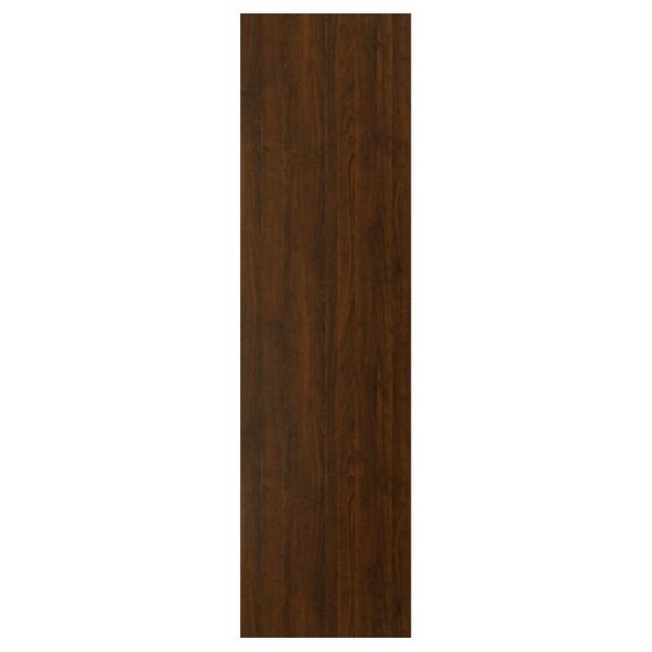 """EDSERUM Panneau latéral de finition, effet bois brun, 25x90 """""""