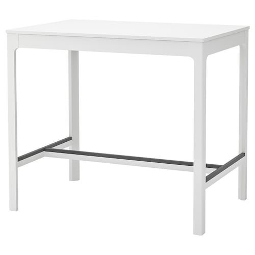 "EKEDALEN table haute blanc 47 1/4 "" 31 1/2 "" 41 3/8 """