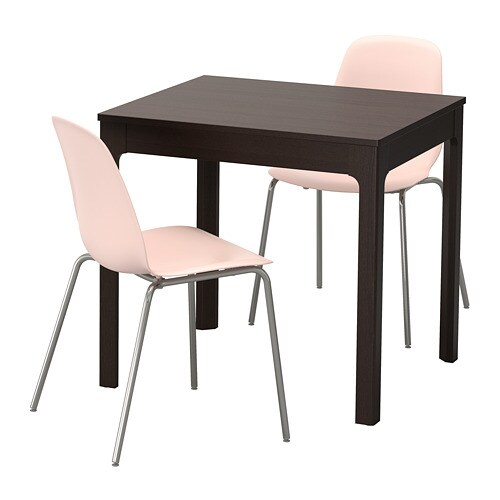 ekedalen leifarne table et 2 chaises ikea. Black Bedroom Furniture Sets. Home Design Ideas