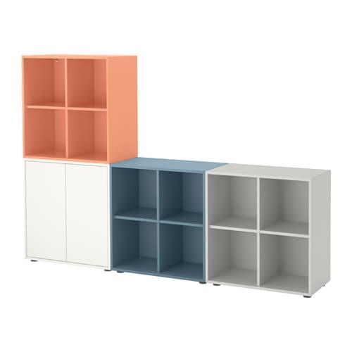 eket rangement avec pieds multicolore 2 ikea. Black Bedroom Furniture Sets. Home Design Ideas