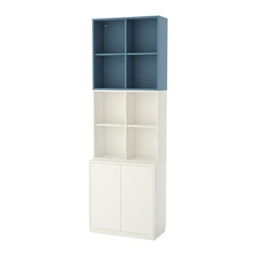 eket rangement avec plinthe blanc bleu clair ikea. Black Bedroom Furniture Sets. Home Design Ideas
