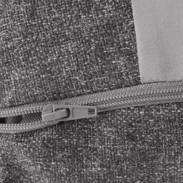EKOLSUND Fauteuil inclinable, Gunnared gris foncé