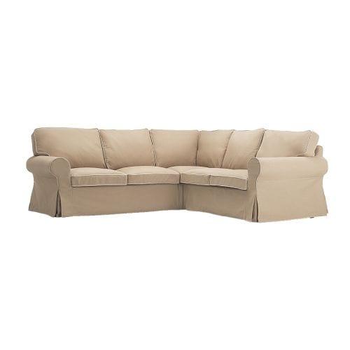 ektorp housse canap d 39 angle 2 2 idemo beige ikea. Black Bedroom Furniture Sets. Home Design Ideas