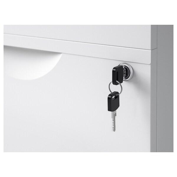 """ERIK Caisson 2 tiroirs sur roulettes, blanc, 16 1/8x22 1/2 """""""