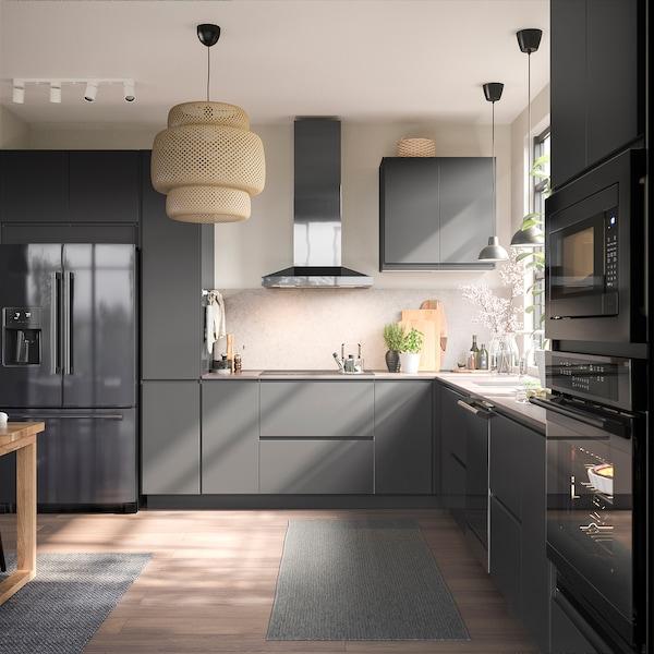ESSENTIELL Lave-vaisselle encastrable, noir acier inox