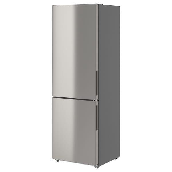 FÄRSKHET Réfrigérateur av congél inférieur, couleur inox, 10.4 cu.ft