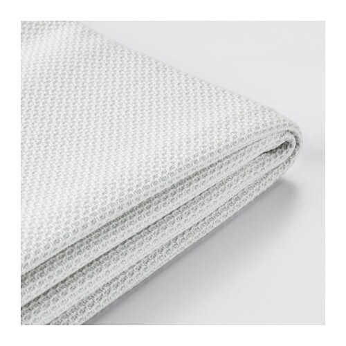 F rl v housse pour canap d 39 angle 2 3 flodafors blanc ikea - Housse pour canape angle ...