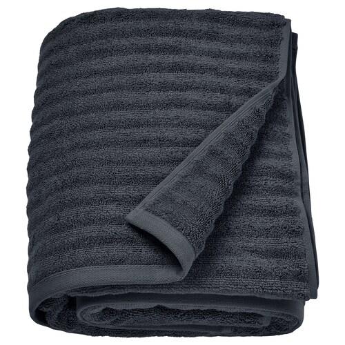 """FLODALEN drap de bain gris foncé 2.29 oz/sq ft 59 """" 39 """" 16.15 pied carré"""
