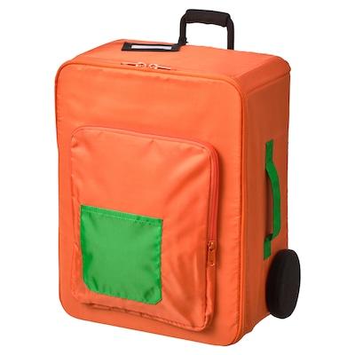 FLYTTBAR Bac de rangement, orange