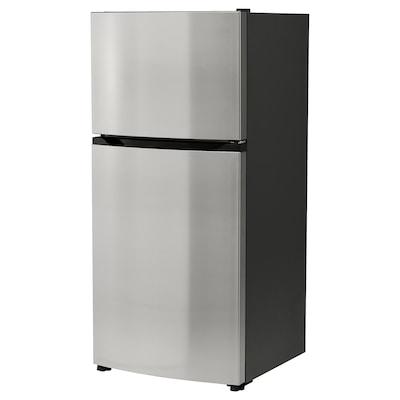 FRYSBAR Réfrigérateur av congél supérieur, acier inox, 13.9 cu.ft