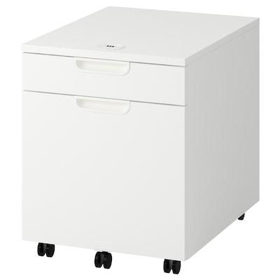 """GALANT Caisson à tiroir-classeur, blanc, 17 3/4x21 5/8 """""""