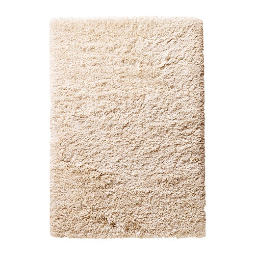 G ser tapis poils longs 133x195 cm ikea for Tapis salon poil long