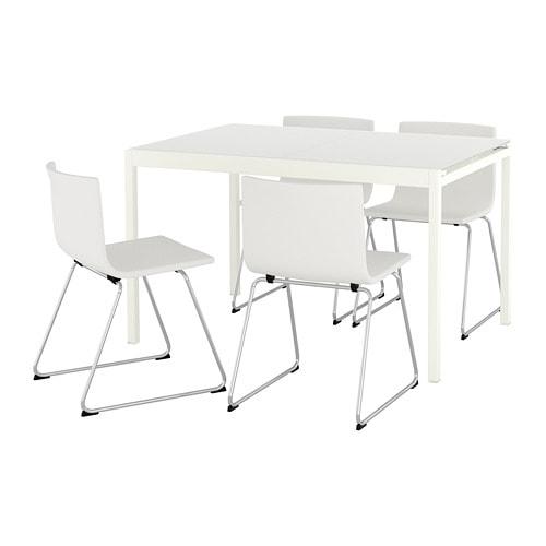 Glivarp Bernhard Table Et 4 Chaises Ikea