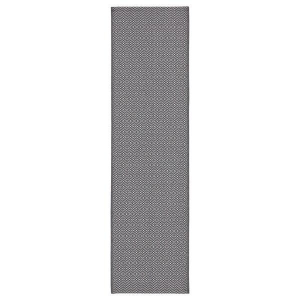 "GODDAG Chemin de table, noir/blanc, 14x51 """