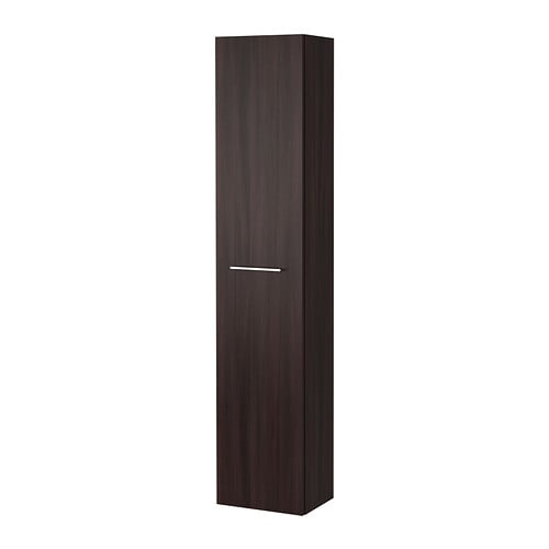 godmorgon armoire haute brun noir ikea. Black Bedroom Furniture Sets. Home Design Ideas