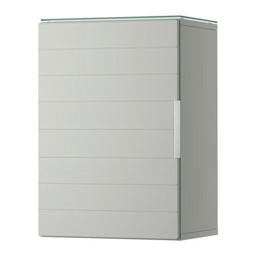 godmorgon armoire murale 1 porte gris clair ikea. Black Bedroom Furniture Sets. Home Design Ideas