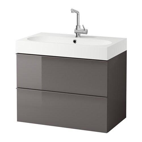 Godmorgon br viken meuble pour lavabo 2 tiroirs for Meuble 4 tiroirs ikea