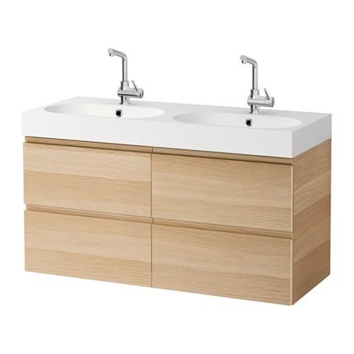 Godmorgon br viken meuble pour lavabo 4 tiroirs effet for Meuble 4 tiroirs ikea