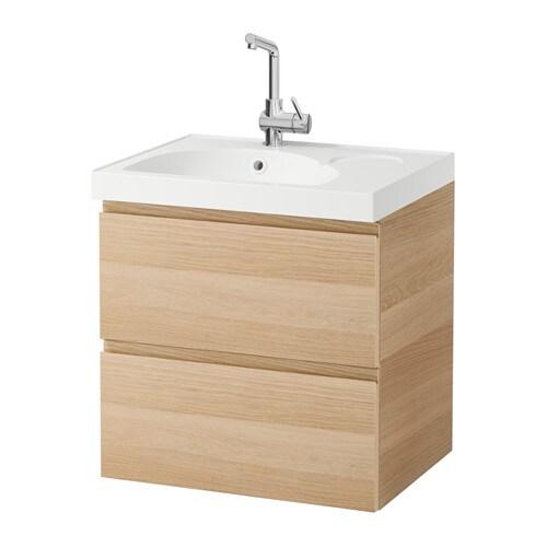 godmorgon edeboviken meuble pour lavabo 2 tiroirs effet ch ne blanchi ikea. Black Bedroom Furniture Sets. Home Design Ideas