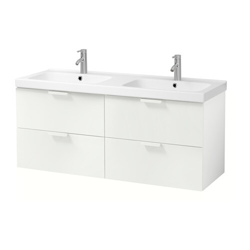 godmorgon odensvik meuble pour lavabo 4 tiroirs blanc ikea. Black Bedroom Furniture Sets. Home Design Ideas