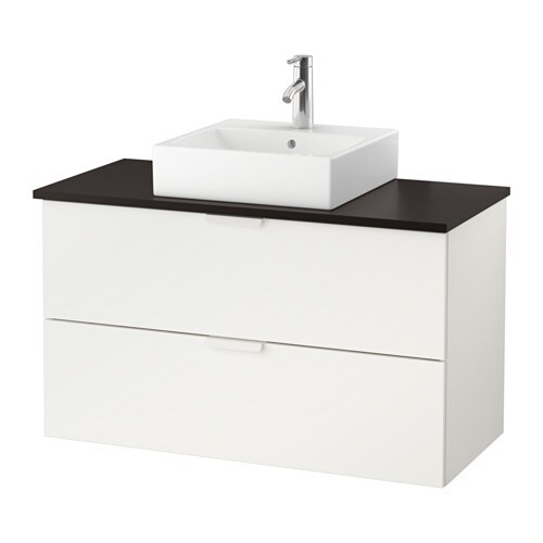 godmorgon tolken t rnviken meuble lavabo av lav poser 45x45 anthracite blanc ikea. Black Bedroom Furniture Sets. Home Design Ideas