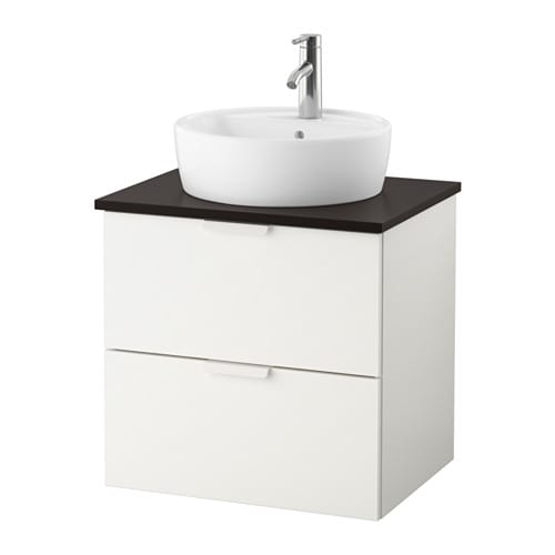 godmorgon tolken t rnviken meuble lavabo av vasque 45 anthracite blanc ikea. Black Bedroom Furniture Sets. Home Design Ideas