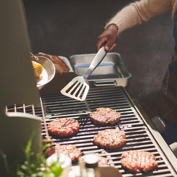 GRILLTIDER Ustensiles barbecue, 2 pièces