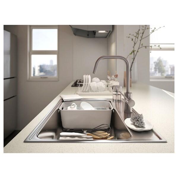 GRUNDVATTNET Bac à vaisselle, gris