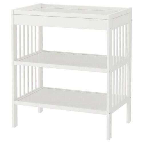 "GULLIVER table à langer blanc 32 1/4 "" 21 1/4 "" 36 5/8 "" 22 lb"