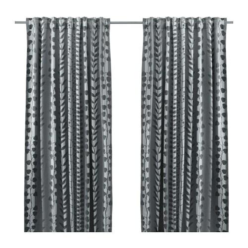 gunni rideaux opaques 2 panneaux ikea. Black Bedroom Furniture Sets. Home Design Ideas