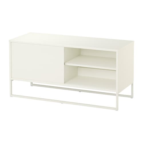 Hagge meuble t l blanc ikea for Ikea meuble tele