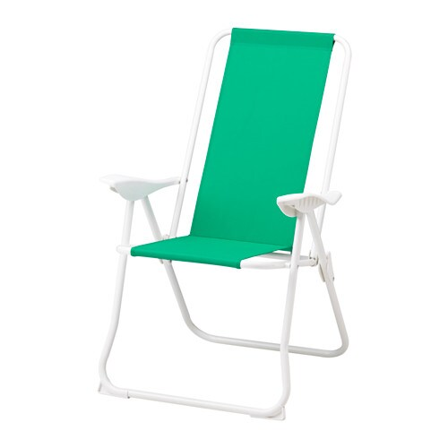 H m chaise dossier inclinable ikea for Chaise inclinable