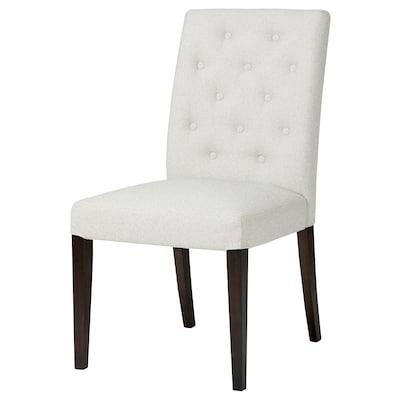 HANSOLLE Chaise, brun-noir