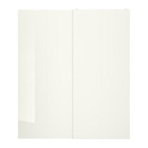 Hasvik Portes Coulissantes 2 Pièces 200x236 Cm Ikea
