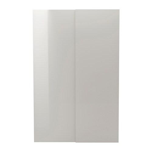 Hasvik portes coulissantes 2 pi ces 150x236 cm ikea for Ikea porte coulissante