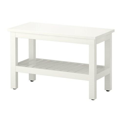 HEMNES Banc  blanc  IKEA -> Ikea Banc Bas