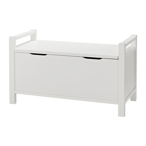 hemnes banc coffre teint blanc ikea. Black Bedroom Furniture Sets. Home Design Ideas
