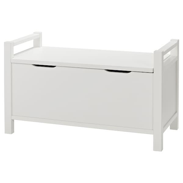 Hemnes Banc Coffre Teinte Blanc Blanc Site Web Officiel Ikea