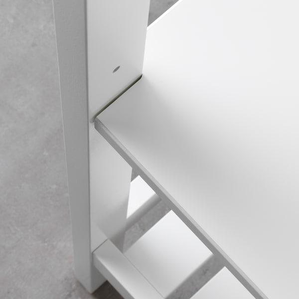 """HEMNES Étagère, blanc, 16 1/2x67 3/4 """""""