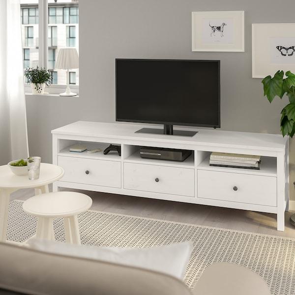"""HEMNES Meuble télé, teinté blanc, 72x18 1/2x22 1/2 """""""