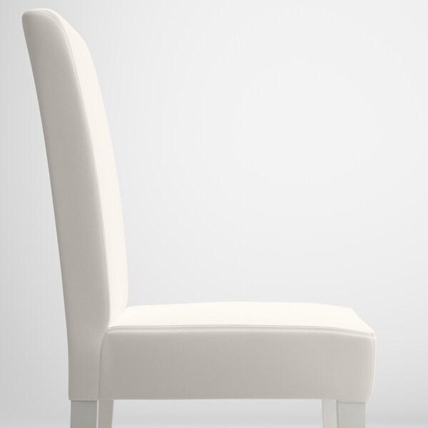 HENRIKSDAL Chaise, blanc/Gräsbo blanc