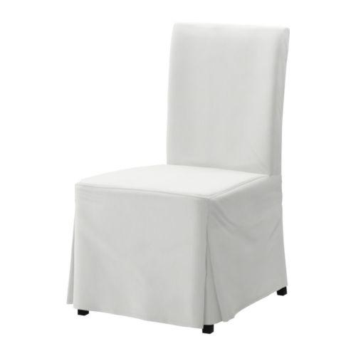 Henriksdal chaise blekinge blanc brun noir ikea for Ikea chaise henriksdal