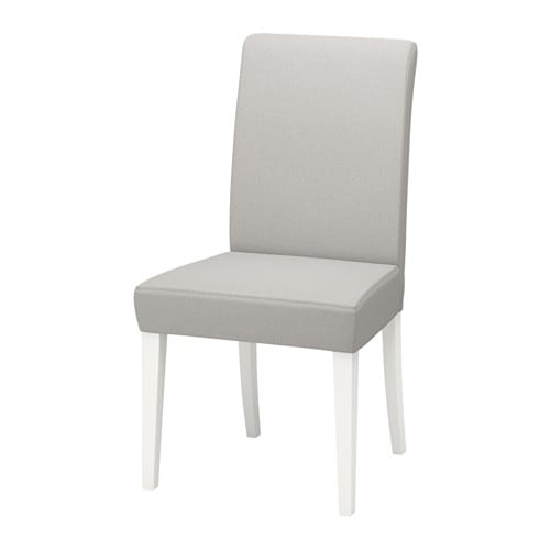 henriksdal chaise orrsta gris clair blanc ikea. Black Bedroom Furniture Sets. Home Design Ideas